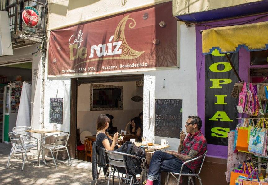cafe de Raiz Mexico food tour