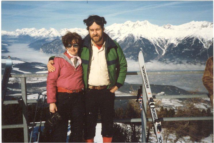 mom dad skiing Austria why I travel