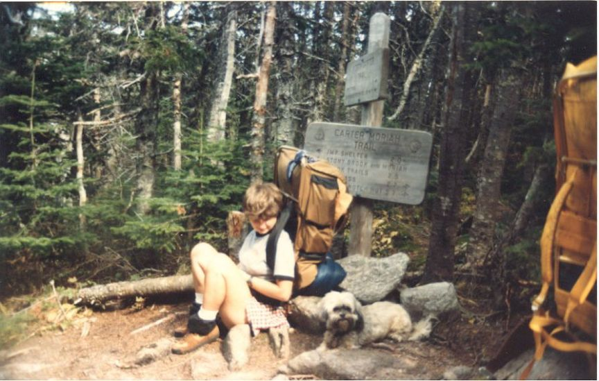 mom hiking why I travel