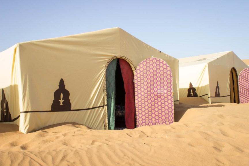 [img] camping in the sahara desert in morocco