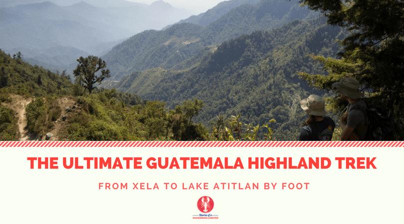 [img] Xela to Lake Atitlan trek