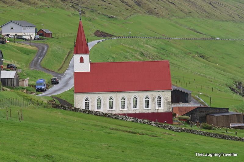 [img] Kalsoy Church Faroe Islands