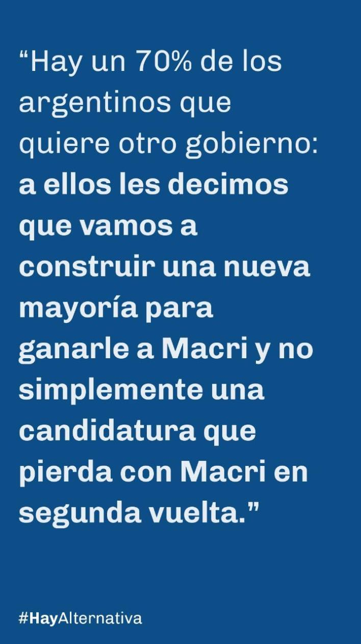 Sergio Massa - Elecciones 2019
