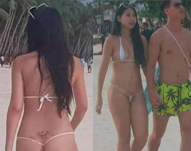 Detención de turista por el tamaño de su bikini en Filipinas