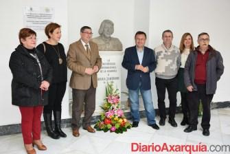 08022016 - Miguel Ángel Heredia y Antonio Moreno en visita Fundación María Zambrano_02