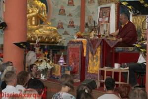 Más de 1.500 personas visitan el Centro Budista Karma Guen de Vélez-Málaga