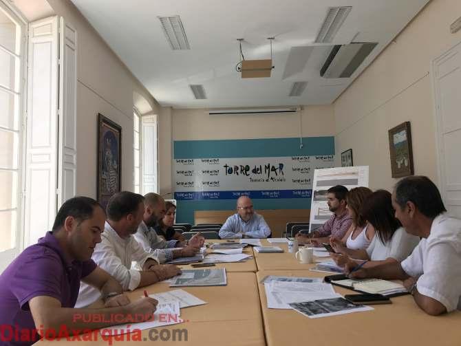 Reunión grupo municipal de Torre del Mar
