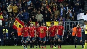 Cinco torpedos en la fiesta de España en Málaga (5-0)