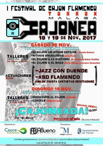 Torrox celebra el I Festival de Cajón Flamenco de la provincia