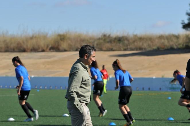 """Contreras: """"Da igual cómo vaya el partido, estas chicas se dejan el alma"""""""