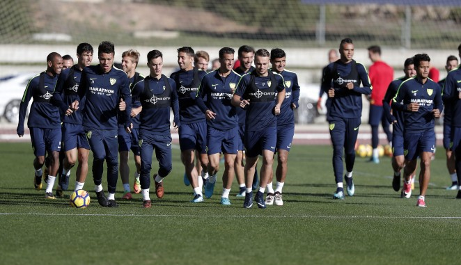 El Málaga CF se desplazará mañana a Madrid