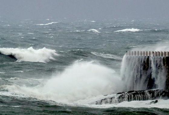 Aviso amarillo por vientos costeros en el litoral malagueño y  la Axarquía