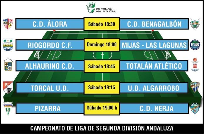 Cinco encuentros con mucho en juego para los axárquicos de Segunda Andaluza
