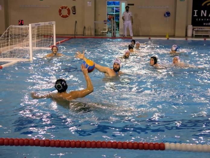 El Waterpolo Málaga cierra el año en Primera Nacional en la Piscina del Concepción Lineal de Madrid