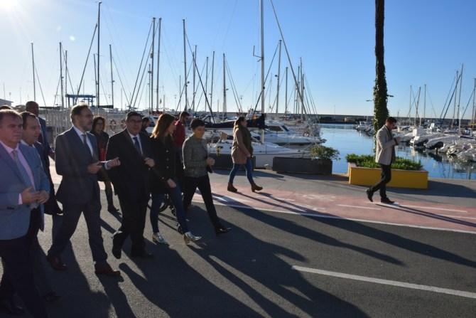 La Junta finaliza las obras para la integración del puerto de Caleta de Vélez en el núcleo urbano tras invertir 856.000 euros