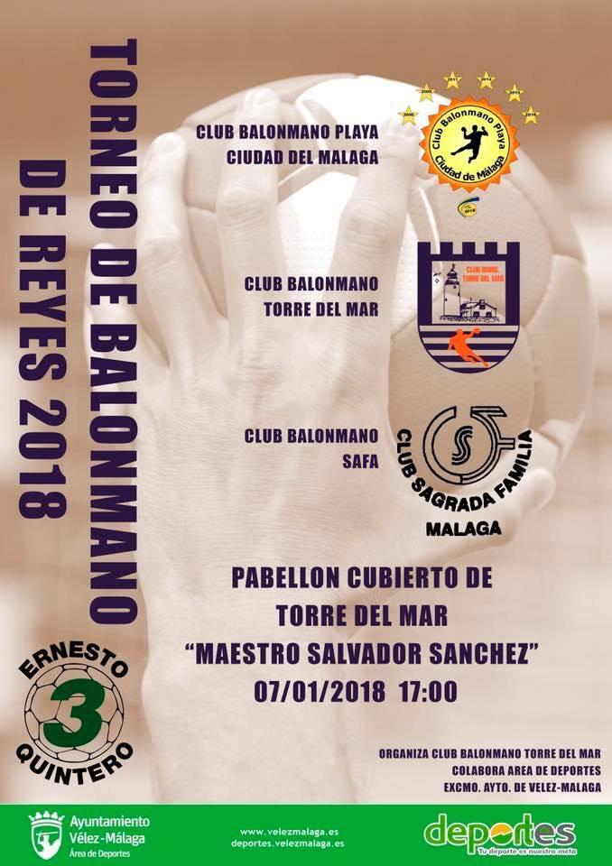 El balonmano recuerda un año más al fallecido jugador de balonmano en el tradicional Torneo de Reyes de Balonmano Memorial Ernesto Quintero.