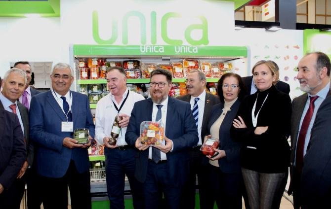 Andalucía ha aumentado un 128% el valor de sus exportaciones hortofrutícolas desde que acude Fruit Logistica