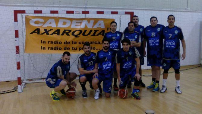C.B. Axarquía más líder con su victoria frente al B.C. Marbella (77-58)