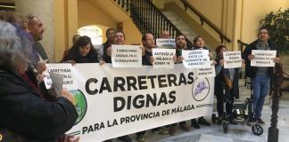 • Reclaman la construcción de una autovía entre Ronda y Málaga, y la mejora de múltiples vías, sobre todo del Valle del Guadalhorce y la Axarquía.