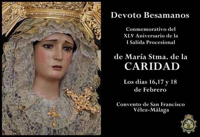 Devoto Besamanos a María Santísima de la Caridad