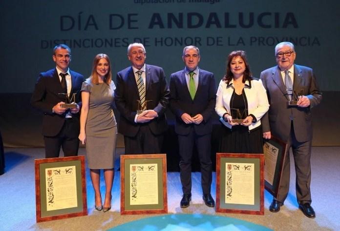 El Museo de Belenes de Mollina, PTV Málaga, Antonio García del Valle y Duda reciben la 'M de Málaga'