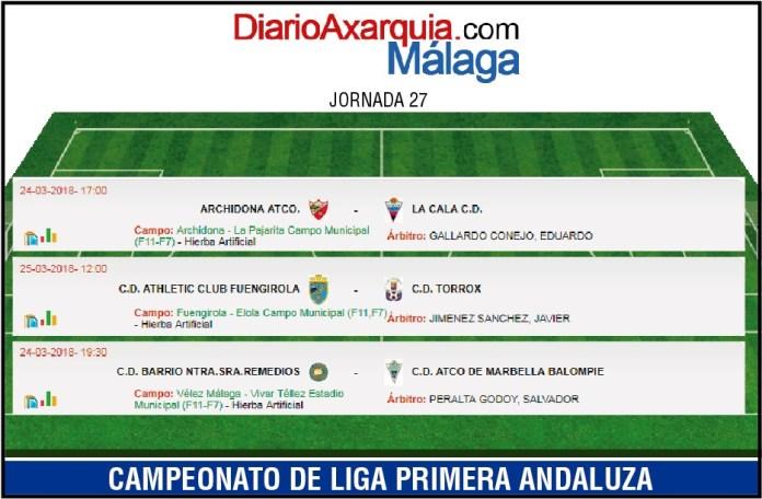 El Torrox buscará ante Fuengirola volver a la zona alta de la liga en Andaluza
