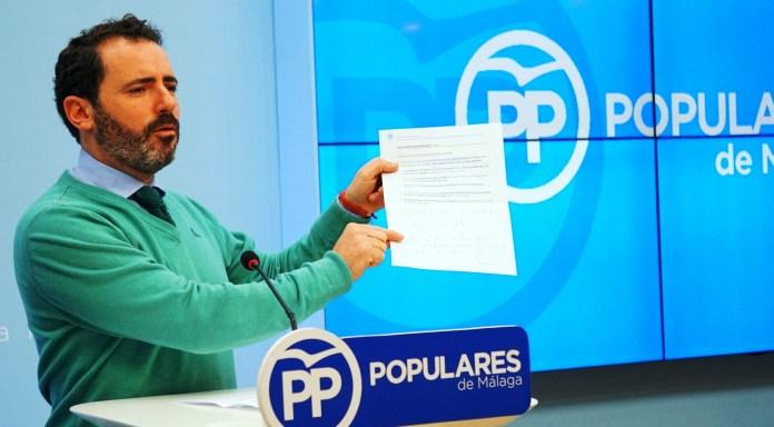 El PP denuncia que 5.000 malagueños se quedan fuera de la FP tras solicitar su plaza
