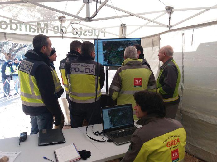 Los operativos de emergencia inician una nueva jornada de búsqueda del hombre desaparecido desde enero en Torremolinos