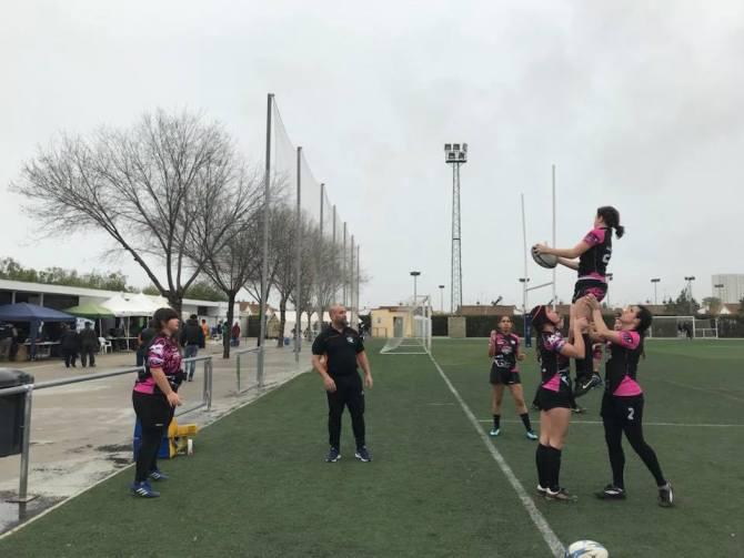 Las chicas del Rugby Axarquía siguen dando pasos de gigante
