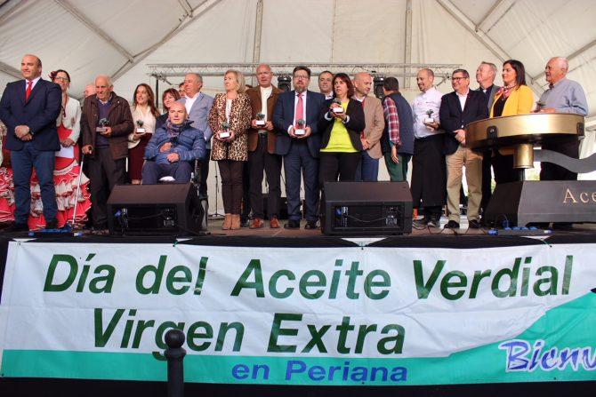 Sánchez Haro reivindica el aceite verdial como huella de la historia, la cultura y el saber hacer de Periana