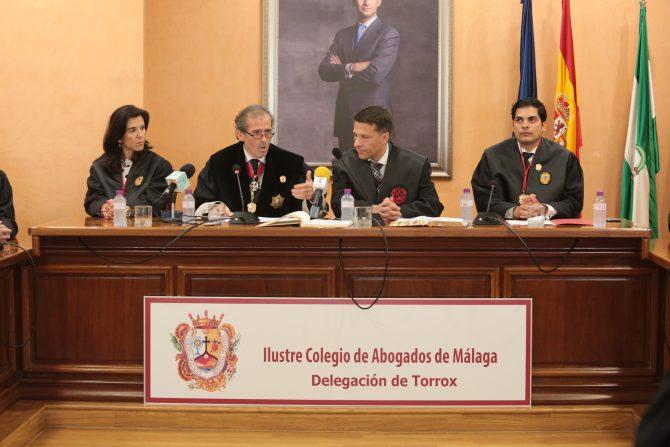 Toman posesión los nuevos delegados del Colegio de Abogados de Málaga en Torrox