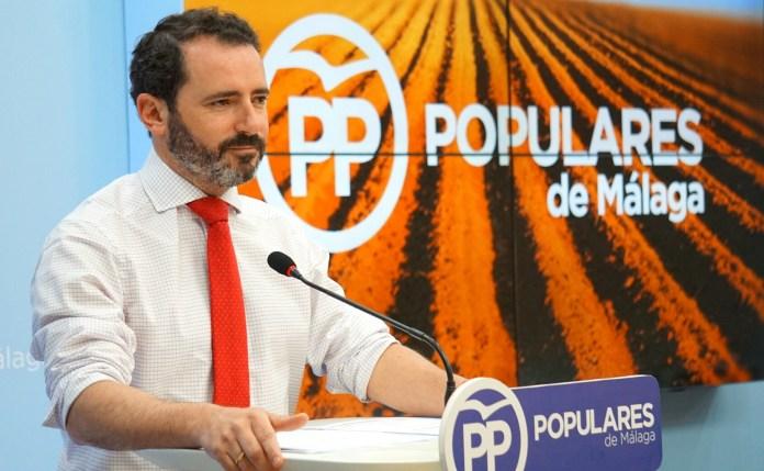 El portavoz del PP de Málaga, José Ramón Carmona, destaca el beneficio directo para la aceituna de mesa, la uva, la cebolla, el aguacate, la castaña, el sector bovino y el ovino.