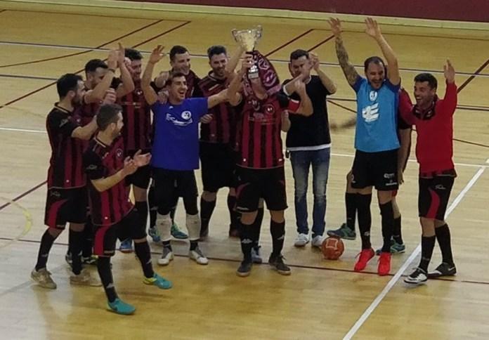 El Atlético Torroxeño, campeón de Málaga de fútbol-sala