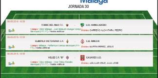 Lo hace con sabor agridulce para los equipos de la Axarquía, donde logran el ascenso tanto Torre del Mar como Rincón de la Victoria, quedándose sin premio el filial del Vélez Club de Fútbol.