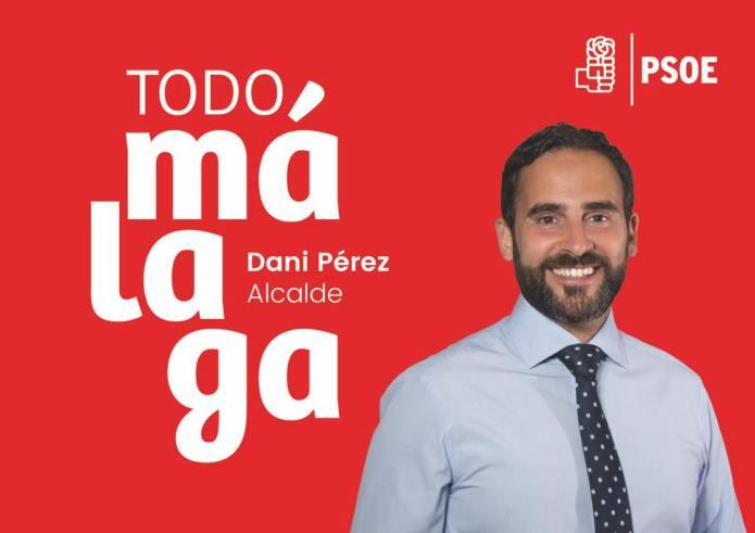 """Dani Pérez se ofrece como """"el alcalde que de el impulso que todo Málaga necesita"""""""