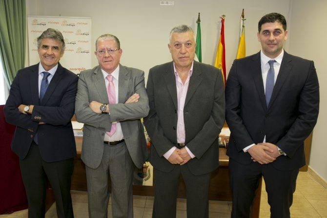 Diego Gaitán Miguel Ángel Sarmiento Francisco Sarmiento y Antonio Aguilar.