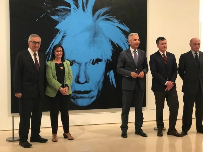 Warhol llega al Museo Picasso de Málaga