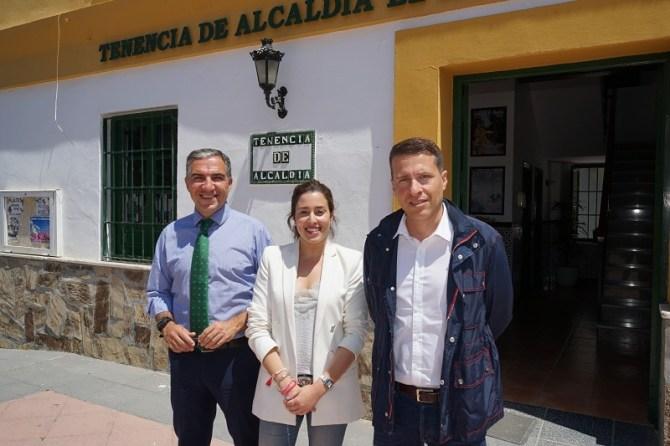 Una nueva actuación de la Senda Litoral une Torrox con Vélez-Málaga