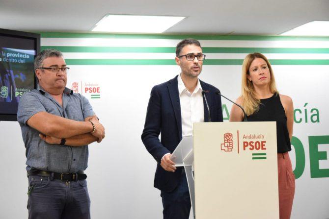 El PSOE destaca que la provincia se beneficiará de la inversión de 5,4 millones de euros por parte de la Junta de Andalucía en 296 proyectos gracias al PFEA
