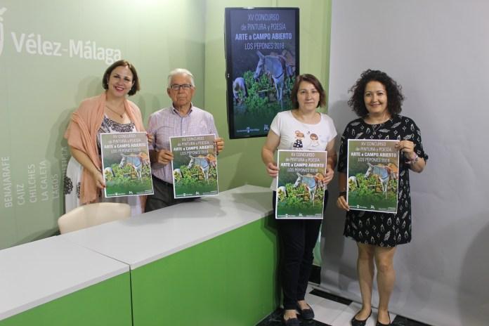 La localidad veleña de Los Pepones presenta una nueva edición del concurso de pintura y poesía