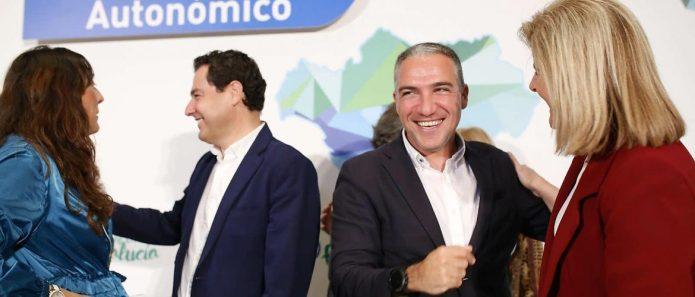 El PP andaluz designa a Elías Bendodo como coordinador de campaña para las Elecciones Autonómicas y Municipales