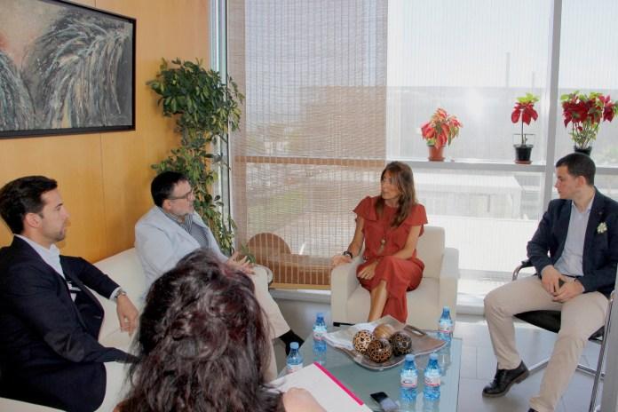 El Colegio de Farmacéuticos y la UMA colaborarán en la puesta en marcha del Plan Provincial Contra la Soledad de los Mayores de la Diputación