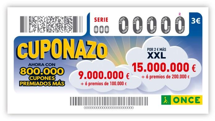 El Cuponazo de la ONCE reparte 275.000 euros en el centro de Antequera
