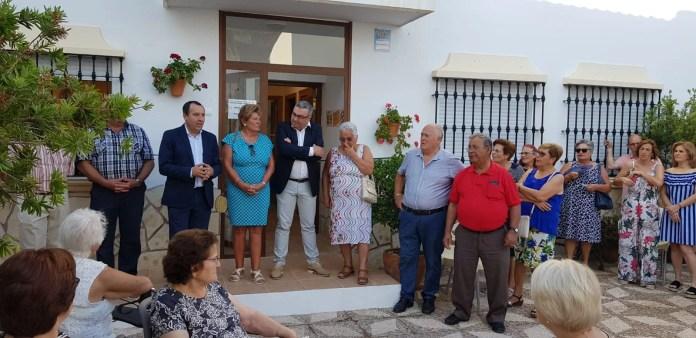 La Viñuela abre un nuevo Centro de Ocio de Mayores municipal financiado a través de los fondos de la Patrica