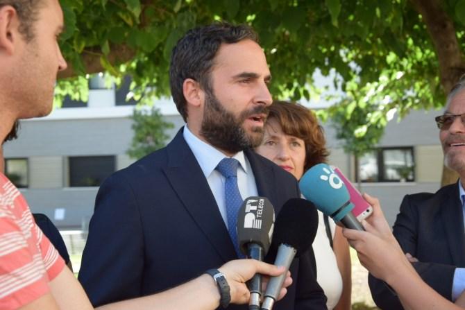 El PSOE reivindica la plaza Carmen Olmedo como bandera de su activismo feminista en Málaga