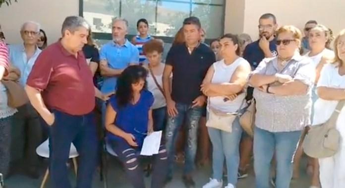 La familia de Fidel Jiménez Marin ha ofrecido hoy una rueda de prensa y han agradecido el apoyo de los vecinos de Vélez-Málaga y Barbate.