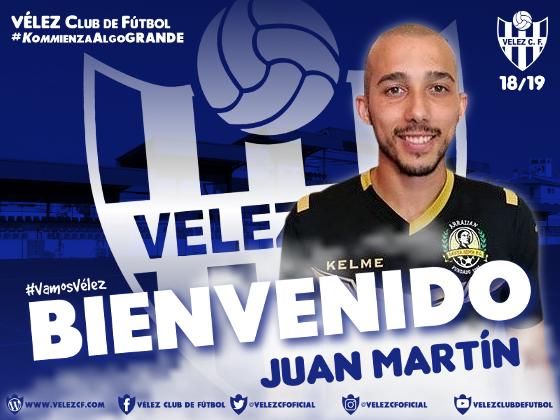 Juan Martín Cano ficha por el Vélez C.F.