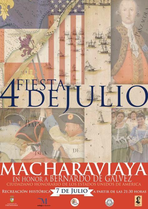 Recreación histórica y desfiles para la celebración del 4 de julio en Macharaviaya