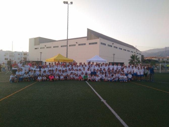 Clausurada la temporada 2017-2018 de la Escuela de Fútbol José Santacruz