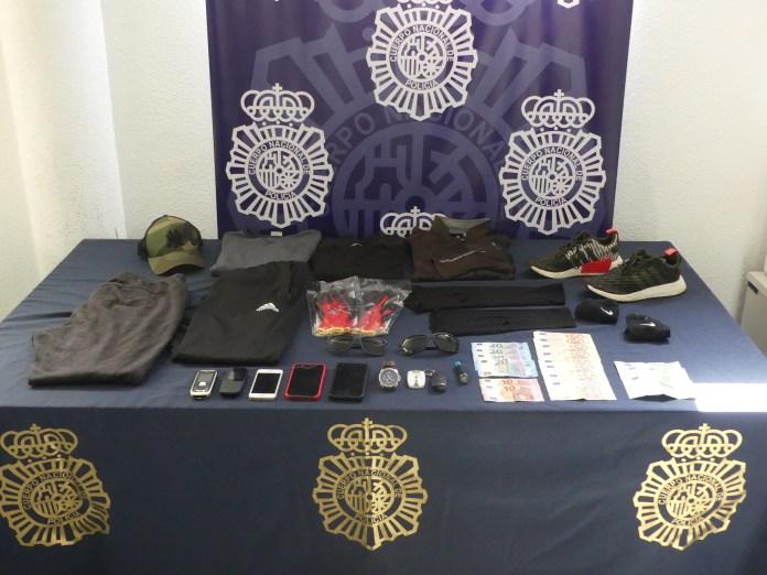 La Policía Nacional desarticula una organización especializada en robar viviendas